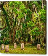 Gould's Cemetery Canvas Print