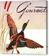 Gourmet Cover Of A Goose Canvas Print