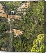 Govetts Leap Falls Canvas Print