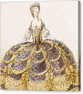 Gown Suitable For Presentation Canvas Print