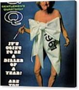 Gq Cover Featuring Comedienne Phyllis Diller Canvas Print