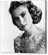 Grace Kelly, Mgm Portrait, Mid-1950s Canvas Print