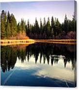 Grace Lake Northern California Canvas Print
