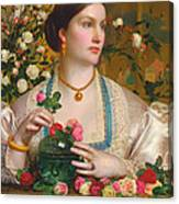 Grace Rose Canvas Print
