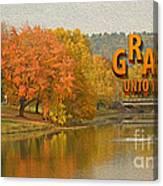 Grace Unto You Canvas Print