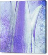 Graced Blossom In Lavender Canvas Print