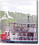 Graceful Ghost Steamboat Canvas Print