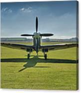 Graceful Spitfire Hdr Canvas Print