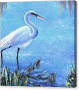Graceful Stroll At Magnolia Gardens Canvas Print