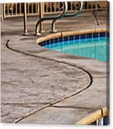 Gracious Curves Palm Springs Canvas Print