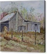 Grady's Barn Canvas Print