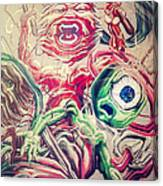 Graff In The City Canvas Print