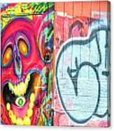 Graffiti 12 Canvas Print