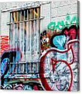 Graffiti 14 Canvas Print
