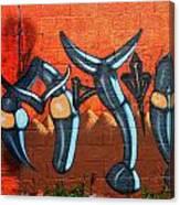 Graffiti 17 Canvas Print