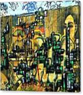 Graffiti 24 Canvas Print