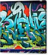 Graffiti 6 Canvas Print