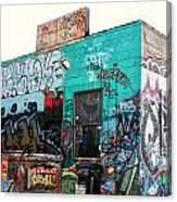 Graffiti 7 Canvas Print