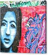 Graffiti 9 Canvas Print