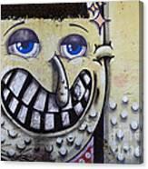Graffiti Art Buenos Aires 1 Canvas Print