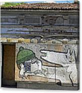 Graffiti In Veliko Tarnovo  Canvas Print