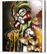 Graffiti Is An Addiction Canvas Print