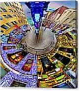Graffiti Lane Circagraph Canvas Print