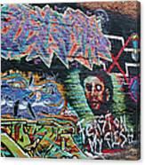 Graffiti Series 01 Canvas Print