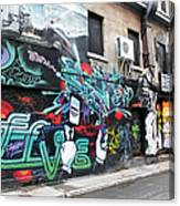 Graffiti Series 02 Canvas Print