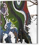 Graffitree 3 Canvas Print