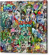 Grafitti Dream Canvas Print