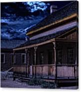 Grafton Ghost Town In Southern Utah Canvas Print