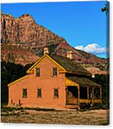 Grafton Utah 1866 Canvas Print