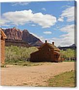 Grafton Utah Butch Cassidy Movie Set Panorama Canvas Print