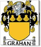 Grahan Coat Of Arms Irish Canvas Print