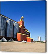 Grain Silos Saskatchewan Canvas Print