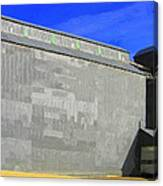 Grain Storage Canvas Print