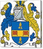 Grainger Coat Of Arms Irish Canvas Print