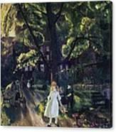 Gramercy Park Canvas Print