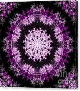 Grammy's Psychedelic Doily Canvas Print