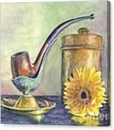Grampas Pipe Canvas Print