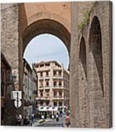 Granada Old City Gateway Canvas Print