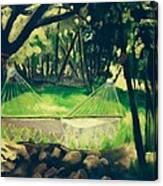 Granbury Hammock Canvas Print