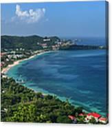 Grand Anse Bay, Grenada Canvas Print
