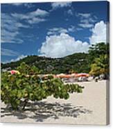 Grand Anse Beach - Grenada Canvas Print