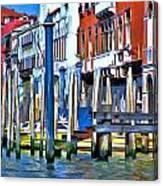 Grand Canal - Venice Canvas Print