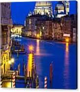 Grand Canal Of Venice Dusk Canvas Print