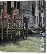Grand Canal Style Home Sweet Home Canvas Print