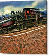 Grand Canyon 29 Railway Canvas Print