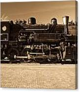 Grand Canyon 29 Railway Engine Canvas Print